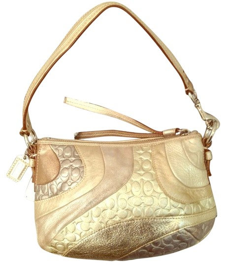 Coach Gold Wave Hobo Bag