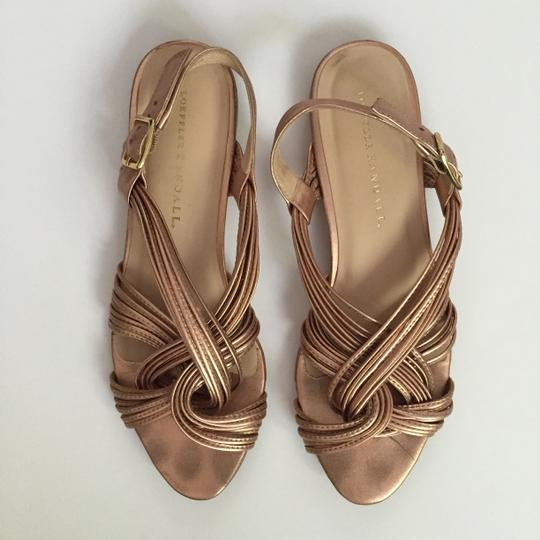 Loeffler Randall Leather Leather Leather dusty rose pink Sandals