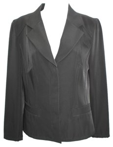 GABRIELE STREHLE Germany Stretch Black Jacket Blazer