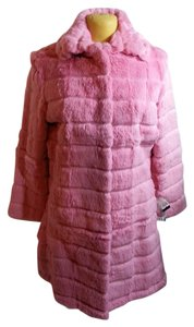 Pelle Studio Rabbit Fur Fur Coat