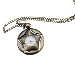 Other Spinning Star Quartz Watch Necklace Free Shipping