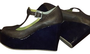 Bettye Muller Brown Wedges