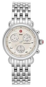 Michele Nwt Michele cx39 chronograph stainless steel watch