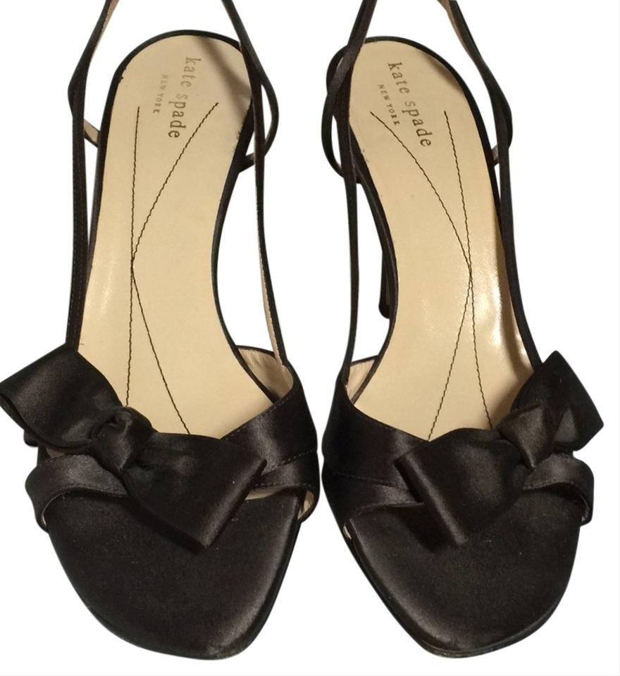 31b8bf8e213 Kate Spade Chocolate Brown Satin Lover Formal Shoes Size US 8 ...