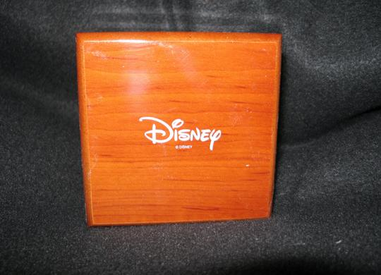 Disney Disney Square Faced Watch, Leather Band, Water Resistant, Original Box