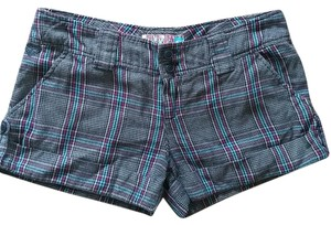 Roxy Cuffed Shorts plaid