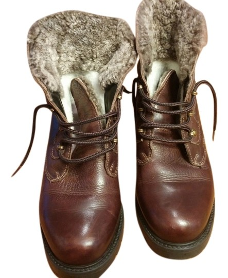 La Canadienne Fur Lined Brown Boots