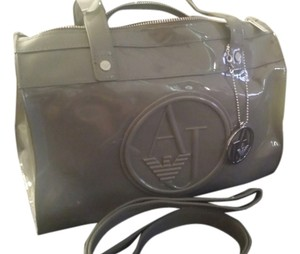 Armani Satchel in Grey