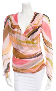 Missoni Top Peach Black