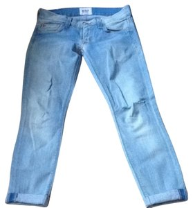 Hudson Jeans Capri/Cropped Denim-Light Wash