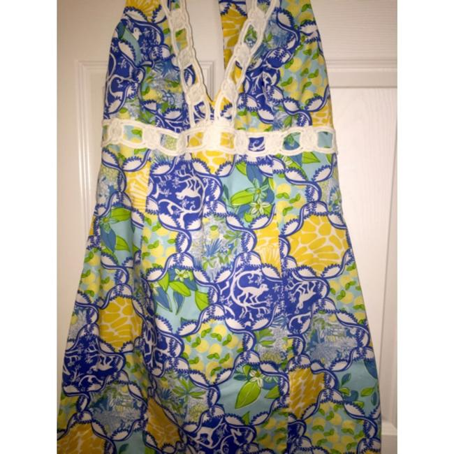 Lilly Pulitzer short dress Cocoa Halter Printed Sophie on Tradesy
