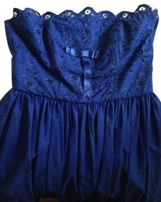 Preload https://item3.tradesy.com/images/betsey-johnson-blue-short-casual-dress-size-8-m-612-0-0.jpg?width=400&height=650