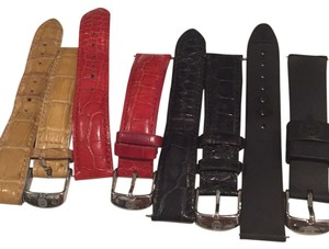 Michele SALE: 3 MICHELE ALLIGATOR BANDS