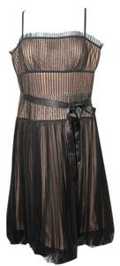 BCBGMAXAZRIA Bcbg Maxazria Black Mesh Dress