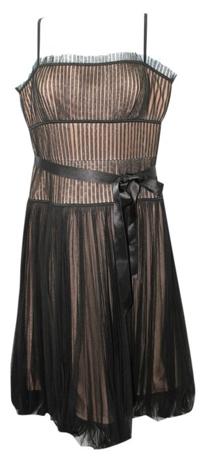 Preload https://item5.tradesy.com/images/bcbgmaxazria-brown-underlay-black-mesh-cocktail-mid-length-night-out-dress-size-6-s-6123094-0-0.jpg?width=400&height=650