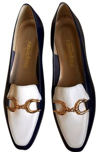 California Magdesians Navy & White Flats