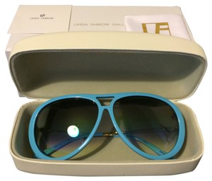 Prabal Gurung Sky Blue Aviator Sunglass