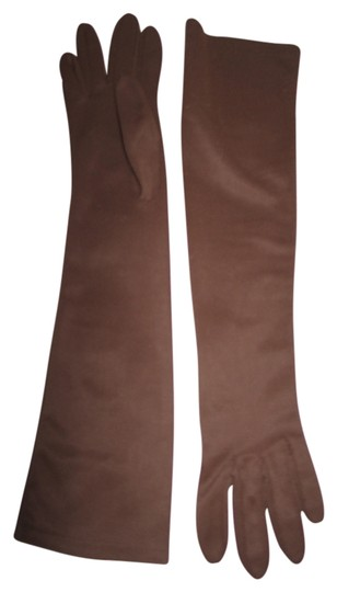 Preload https://img-static.tradesy.com/item/6123553/brown-elbow-length-gloves-brown-cotton-size-small-0-0-540-540.jpg