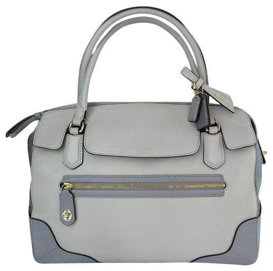 Preload https://item2.tradesy.com/images/coach-25073-poppy-colorblock-gray-tones-leather-satchel-6123571-0-1.jpg?width=440&height=440