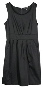 JOEI&I Poly Stretch Sleeveless Pockets Scoop Neck Dress