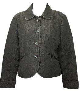 Banana Republic The Limited Quilted Black Jacket Blazer
