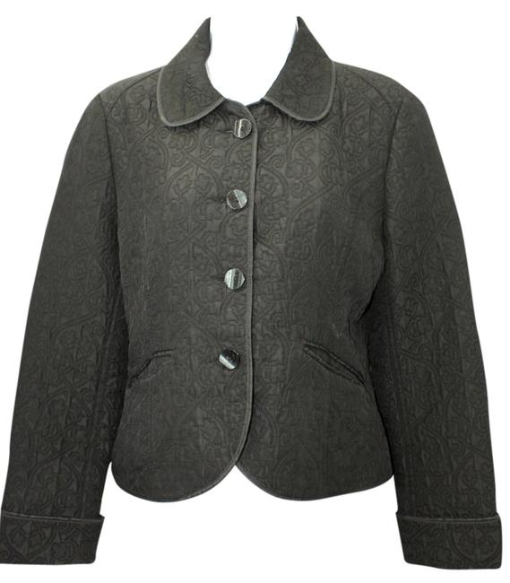 Preload https://item3.tradesy.com/images/banana-republic-the-limited-quilted-black-jacket-m-blazer-size-8-m-6124432-0-0.jpg?width=400&height=650
