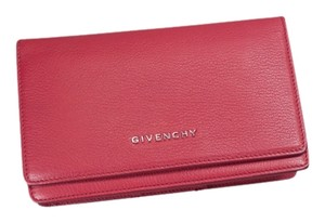 Givenchy * Givenchy Pandora Chain Wallet - Raspberry