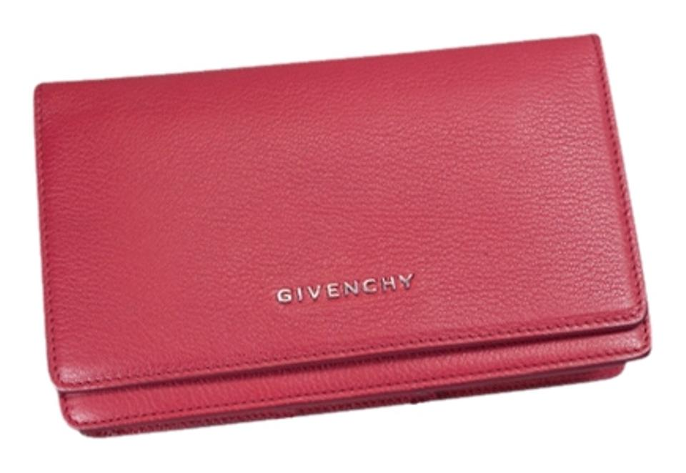 Givenchy   Givenchy Pandora Chain Wallet - Raspberry ... a7bc134722cc1