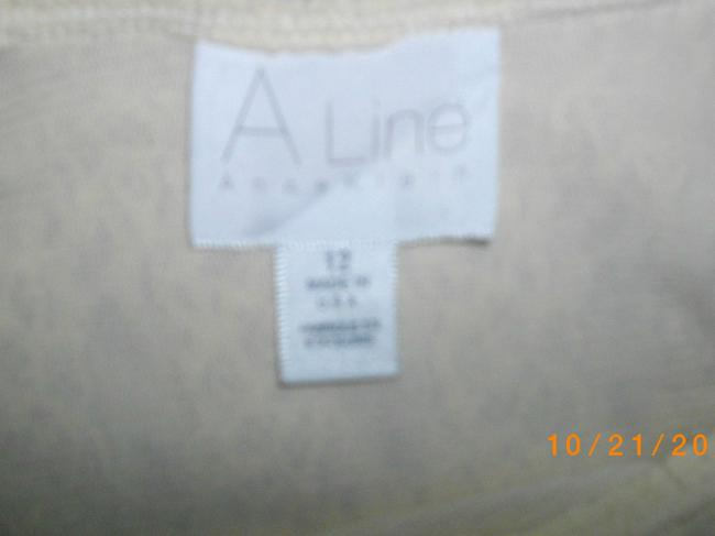 Anne Klein Lace Short Sleeves Sweater