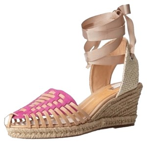 SCHUTZ Pink and Nobuck Wedges