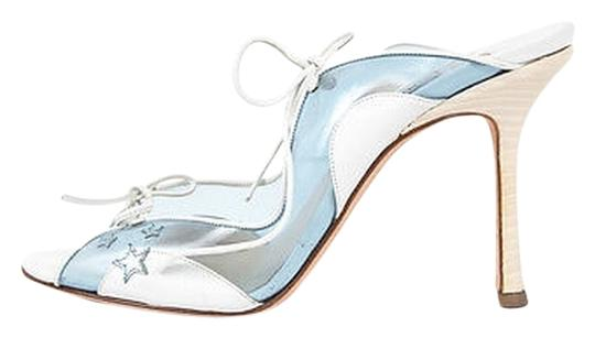 Preload https://item5.tradesy.com/images/jimmy-choo-white-and-blue-translucent-star-leather-wood-heel-sandals-size-eu-385-approx-us-85-regula-6126559-0-0.jpg?width=440&height=440
