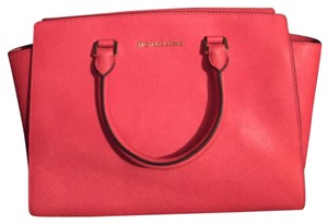 Michael Kors Satchel in Watermelon