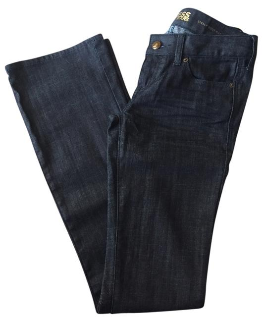 Express Boot Cut Jeans-Dark Rinse