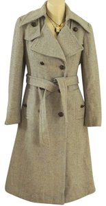 Ruby Martin Vintage Herringbone Trench Coat