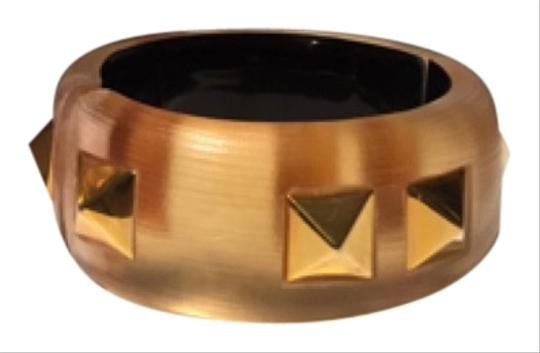 Alexis Bittar Alexis Bittar Gold Studded Lucite Bangle
