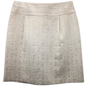 Merona Metallic Cotton Skirt