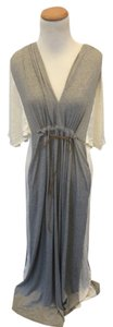 Grey Maxi Dress by Souvenir Edition Staci Woo