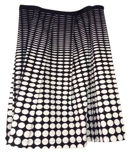 Calvin Klein Geometric Modern Skirt Black and White