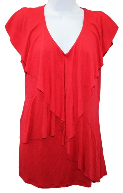 Preload https://item2.tradesy.com/images/milano-red-stretch-l-blouse-size-12-l-6128206-0-0.jpg?width=400&height=650