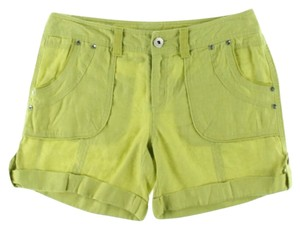 INC International Concepts Mini/Short Shorts Acid Lame