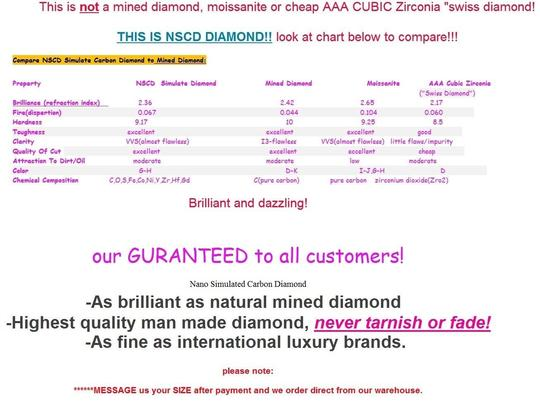 3ct Center Nscd Sona Cushion Square Simulated Cushion Cut Diamond Pink Yellow White 14k - We Can Do Any Finger Size Engagement Rings
