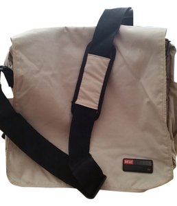 Diesel Crossbody Nylon beige Messenger Bag