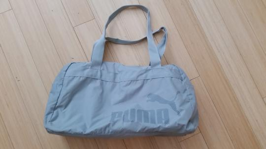 Puma Gym Weekend Nylon Lightweight Tote in gray