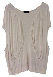 The Podolls Butterfly Cotton Top Oatmeal