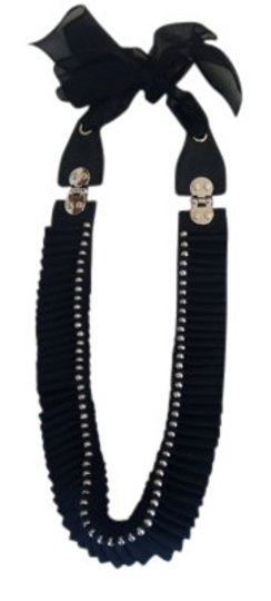Preload https://item5.tradesy.com/images/31-phillip-lim-black-accordion-pleated-necklace-6129-0-0.jpg?width=440&height=440