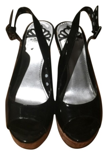 Fergalicious by Fergie Blac Wedges