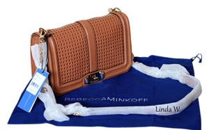 Rebecca Minkoff Leather Perforated Cross Body Bag