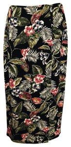Josephine Chaus Wrap Sarong Skirt Multi-Color