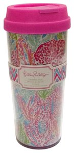 Lilly Pulitzer Thermal Mug In Lets Cha Cha 16 Ounce