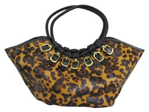 Other Leopard Print Handbag Tote in Brown